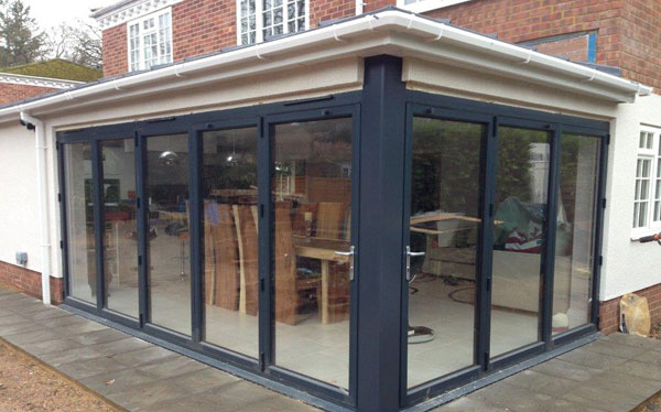 Amusing Conservatory Folding Doors Pictures - Exterior ideas 3D ...